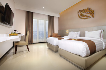 Gets Hotel Malang - Deluxe Twin Bed Room Only Regular Plan