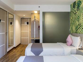 Liberta Seminyak Hotel - Connecting Room Double and Twin Room with Breakfast Regular Plan