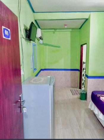 Hotel Indah Grogot Syariah Balikpapan - Twin Room AntiBoros