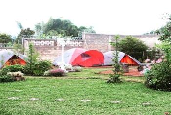 Camping At The Villa Unique Lembang - Camping At The Villa Regular Plan