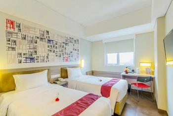 Grand Cordela Hotel Bandung - Deluxe Smart Twin Room Only Regular Plan