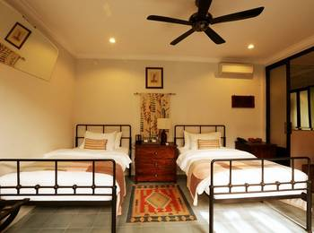 Brown Feather Hotel Bali - Deluxe Halona Twin Room Only Regular Plan