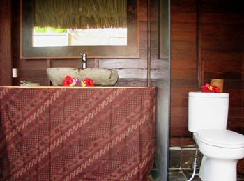 TS Hut Lembongan Bali - Bungalow satu kamar tidur dengan sarapan Regular Plan