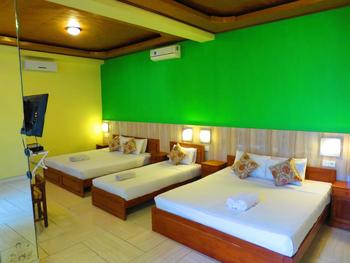Amed Cafe Hotel Bali - Family Room Secret Max