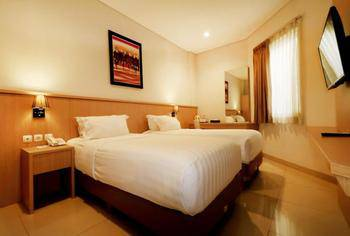 Hotel Dafam Rio Bandung - Deluxe Twin Room Only Weekday Hot deal Jan-May 19