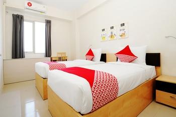 OYO Flagship 910 Menara Rungkut Surabaya Surabaya - Standard Twin Room Regular Plan
