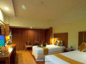 Hotel Savoy Homann Bandung - Deluxe Room Twin Bed Last Minute Booking