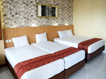 Airlangga Hotel & Restaurant Yogyakarta - Family Room for 4 Person - Room Only Regular Plan