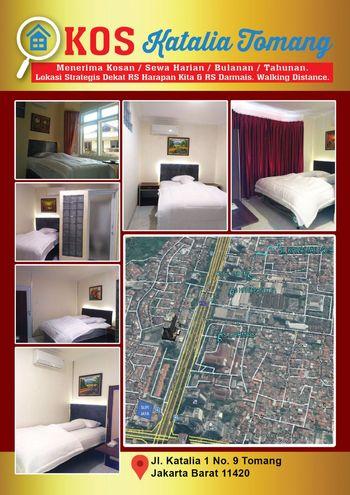 Kos Katalia Tomang Jakarta - Superior Room Regular Plan