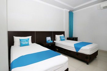 Airy Eco Syariah Rappocini Mapala Raya A2 6 Makassar Makassar - Deluxe Twin Room Only Regular Plan