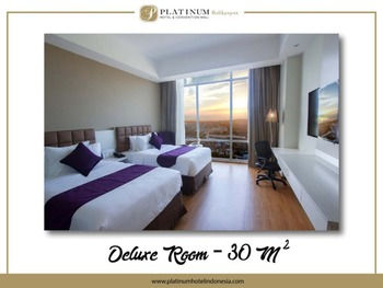 Platinum Balikpapan Hotel And Convention Hall   - Deluxe Twin Bed Room PlatinuMomenT