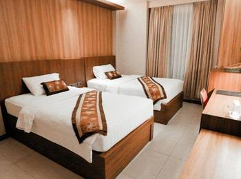 Diamond Hotel Samarinda - Deluxe Twin Room Regular Plan