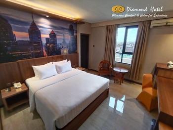 Diamond Hotel Samarinda - Deluxe Double Room - WIP WIP HURA Regular Plan