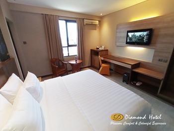 Diamond Hotel Samarinda - Superior Double Room Apps - WIP WIP HURA Regular Plan