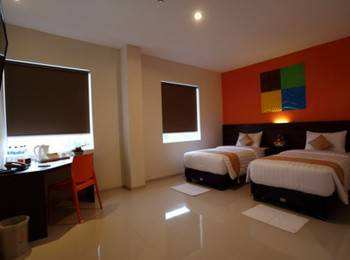 Miyana Hotel Medan - Cozy Twin Room Regular Plan