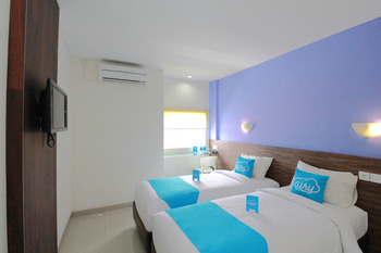 Airy Jimbaran Taman Mulia Arwana 88 Bali - Deluxe Twin Room Only Regular Plan