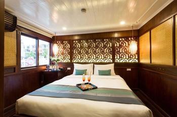 Bhaya Cruises Ha Long - Kamar Deluks, 1 Tempat Tidur Double atau 2 Tempat Tidur Twin Penawaran kilat: hemat 25%