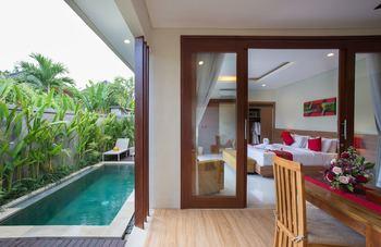 Aishwarya Exclusive Villas Bali - One Bedroom Junior Suite pool Villa Regular Plan