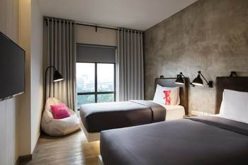 Moxy Bandung Bandung - Room, 2 Twin Beds, City View (Moxie) Regular Plan