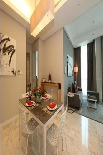 Fraser Residence Sudirman Jakarta - Deluxe Room, 2 Bedrooms Regular Plan
