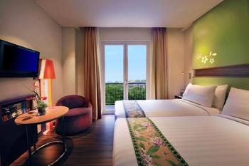 ibis Styles Denpasar Bali - Kamar Superior, 2 Tempat Tidur Twin, balkon Regular Plan