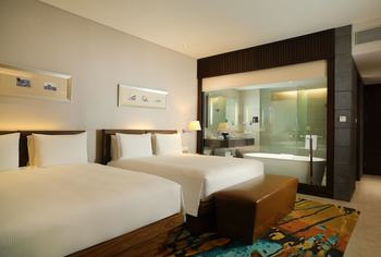 Hilton Bandung - Executive Room, 2 Queen Beds, Business Lounge Access Regular Plan