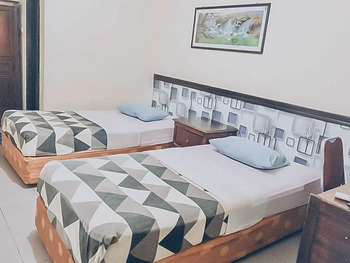 Hotel Aida Syariah Samarinda - Twin Room KETUPAT