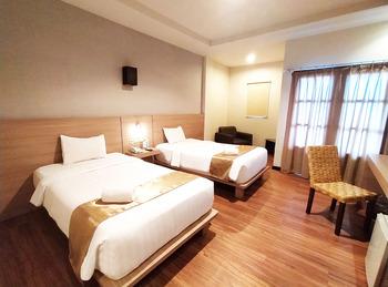 Kuraya Residence Bandar Lampung - Deluxe Twin Room Regular Plan