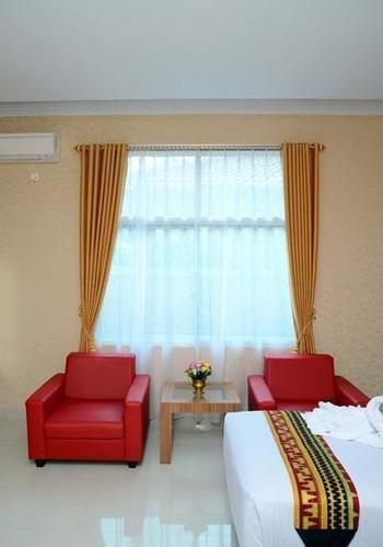 Hotel Radin Inten Syariah Lampung Selatan - Deluxe King Room Regular Plan