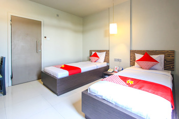 OYO 788 Bidari Hotel Lombok - Standard Twin Room Regular Plan