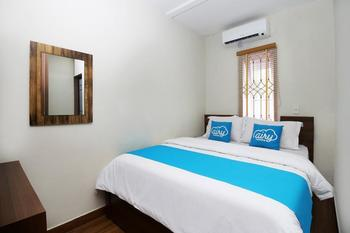 Airy Eco Syariah Medan Petisah Sei Bahkapuran 16A - Deluxe Double Room Only Regular Plan