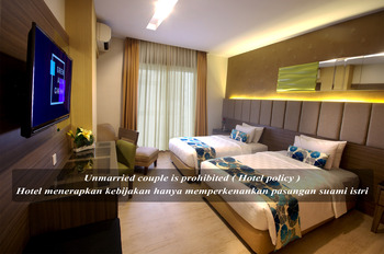 Hotel Gren Alia Cikini Jakarta - Deluxe Twin Room with Meal Stay More, Pay Less