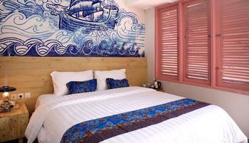 Omah Njonja Bed & Brasserie Yogyakarta - Omah Njonja Double Bed Room Breakfast Regular Plan