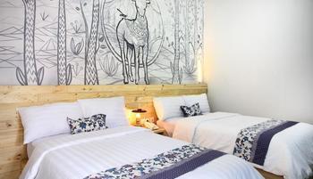 Omah Njonja Bed & Brasserie Yogyakarta - Omah Njonja Twin Bed Room Regular Plan