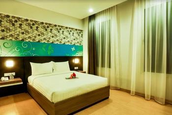 Evo Hotel Pekanbaru Pekanbaru - Deluxe Double Room Only Regular Plan