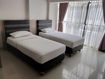 OYO 3811 Best Inn Hotel Jakarta - Standard Twin Room Early Bird Deal