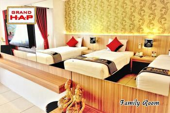 Grand HAP Hotel Solo - Family (Room Only) Regular Plan