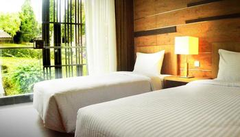 Lembang Asri Resort Lembang - Deluxe Twin Room Only Regular Plan