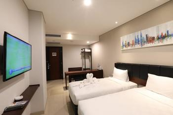 Primebiz Hotel Surabaya Surabaya - Superior Twin - Room Only Regular Plan