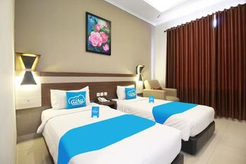Airy Asia Afrika Pangarang 24 Bandung - Deluxe Twin Room with Breakfast Regular Plan