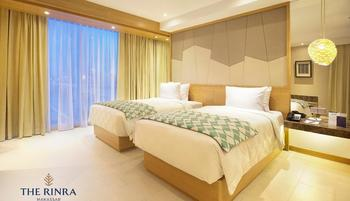 The Rinra Makassar - Deluxe Twin Bed Regular Plan