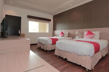 Capital O 459 Kuraya Residence Bandar Lampung - Deluxe Twin Room Regular Plan