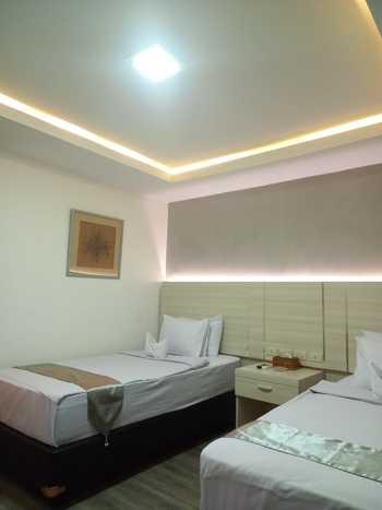 Hotel Kurnia Perdana Bandar Lampung - Deluxe Twin  Regular Plan