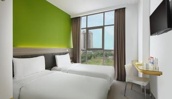 Amaris Margorejo Surabaya - Smart Room Twin Ramadhan GRATIS TAKJIL & SAHUR Regular Plan
