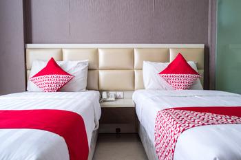 OYO 676 Nasa Hotel Batam - Deluxe Twin Room Regular Plan