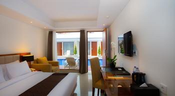 The Sun Hotel Bali - Kamar Deluxe Double dengan akses kolam renang  Minimum Stay 2 Nights Disc 38%