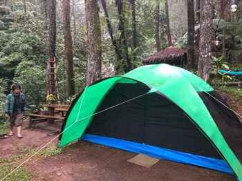 Camp Curug Batu Gede Cisuren Bogor - Large Dome Tent Regular Plan