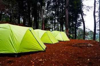 Camp Curug Batu Gede Cisuren Bogor - Medium Dome Tent Regular Plan