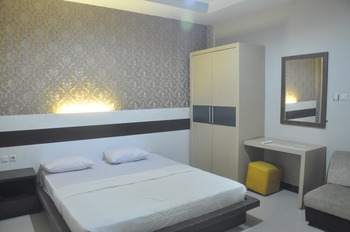 Hotel Indah Kendari Kendari - Deluxe Double Room Only Regular Plan
