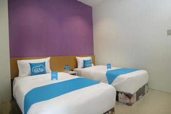 Airy Medan Kota MT Haryono Surabaya 2 - Standard Twin Room Only Regular Plan